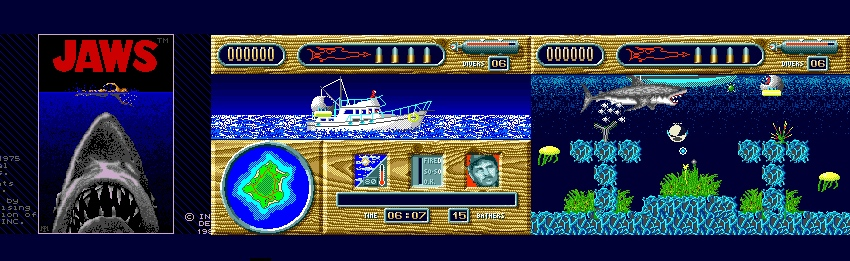 AMIGA JAWS 1989 game