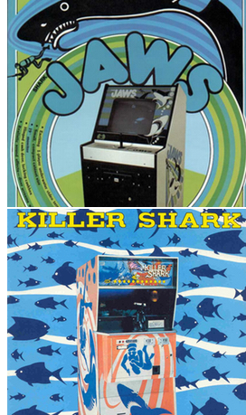 JAWS arcade machines