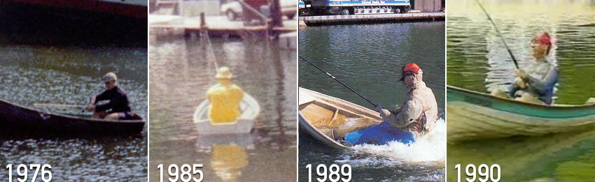 George the fisherman timeline 1976-1990